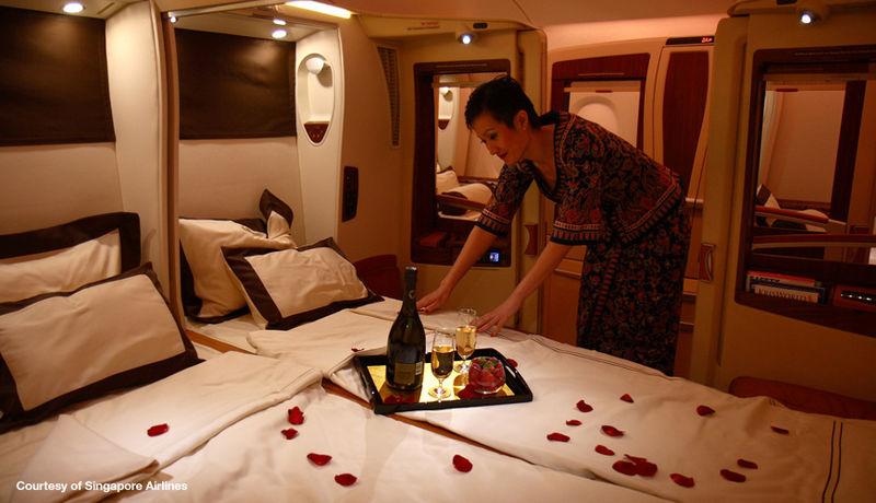 シンガポール航空個室